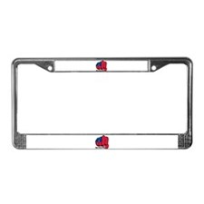 Samoa Fist 1923 License Plate Frame