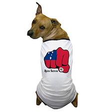 Samoa Fist 1923 Dog T-Shirt