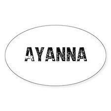 Ayanna Oval Decal