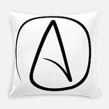 Atheism Symbol Everyday Pillow