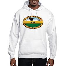 ALIYA - safari Hoodie Sweatshirt