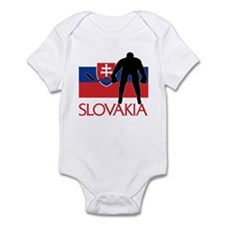 Slovak Hockey Infant Bodysuit