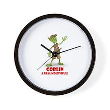 The Gobbling Goblin's Wall Clock