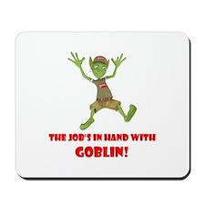 The Gobbling Goblin's Mousepad