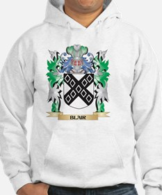 Blair Coat of Arms - Family Cres Hoodie
