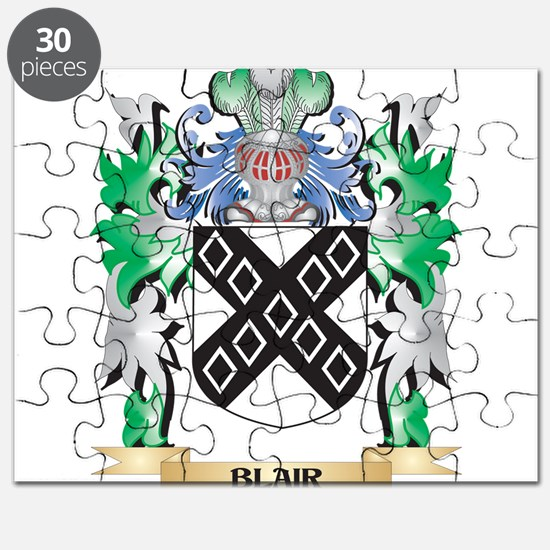 Blair Coat of Arms - Family Crest Puzzle
