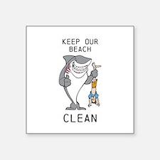 Clean Beaches Sticker