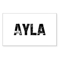 Ayla Rectangle Decal