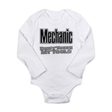 Cute Hvac Long Sleeve Infant Bodysuit