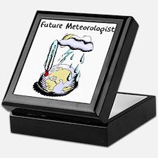 Future Meteorologist Keepsake Box