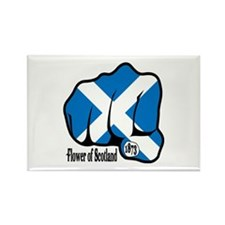 Scotland Fist 1873 Rectangle Magnet