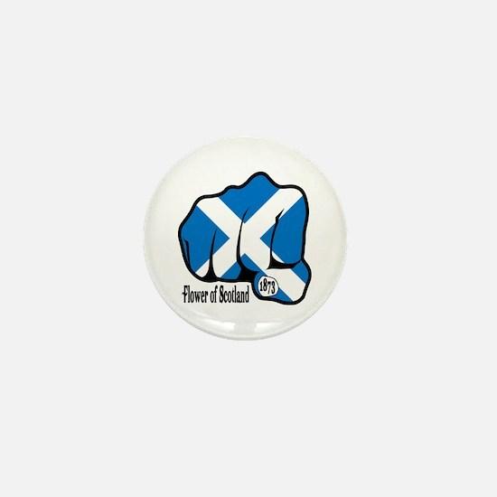 Scotland Fist 1873 Mini Button