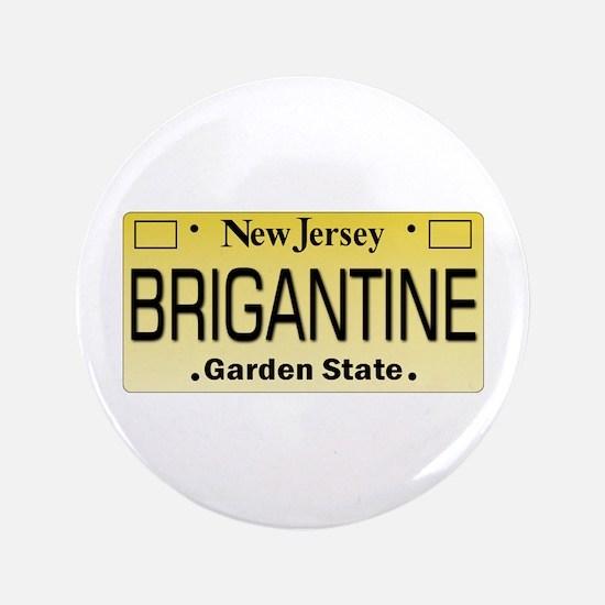 "Brigantine NJ License Tagwear 3.5"" Button"