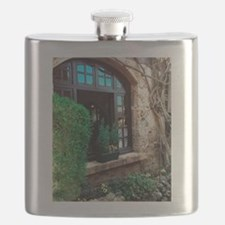 Window box in Perouges Flask