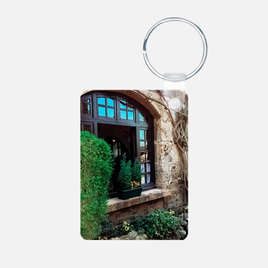 Window box in Perouges Keychains
