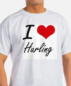 I love Hurling T-Shirt