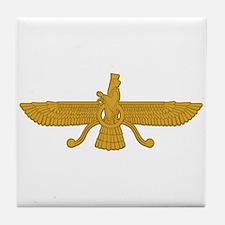Zorastrian Symbol Tile Coaster