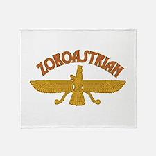 Zoroastrian Throw Blanket