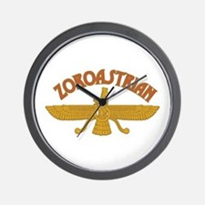 Zoroastrian Wall Clock