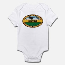 GENEVIEVE - safari Infant Bodysuit