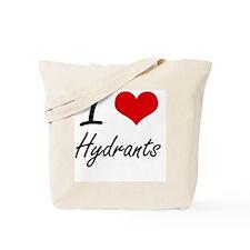 I love Hydrants Tote Bag