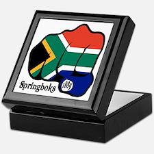 South Africa Fist 1889 Keepsake Box