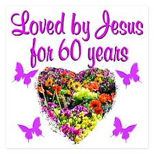 PRAYING 60 YR OLD Invitations