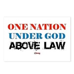Under God Above Law Postcards (Package of 8)