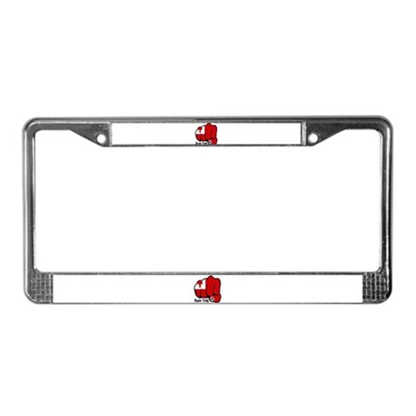 Tonga Fist 1923 License Plate Frame