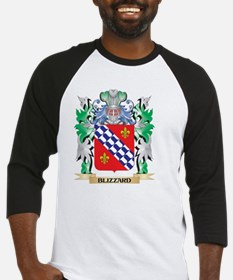 Blizzard Coat of Arms - Family Cre Baseball Jersey