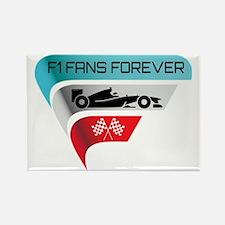 F1 Fans Forever Rectangle Magnet