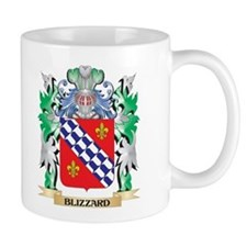 Blizzard Coat of Arms - Family Crest Mugs