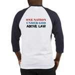Under God Above Law Baseball Jersey