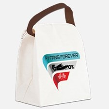 F1 Fans Forever Canvas Lunch Bag