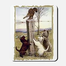Scottie Westie & Skye Terriers Mousepad