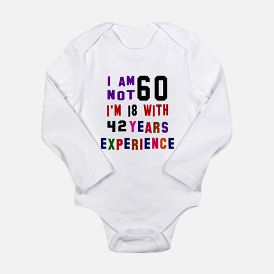 60 Birthday Designs Onesie Romper Suit