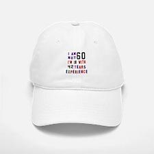 60 Birthday Designs Baseball Baseball Cap