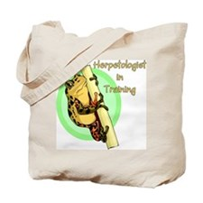 Herpetologist in Training Tote Bag