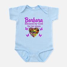 PRAYING 60 YR OLD Infant Bodysuit