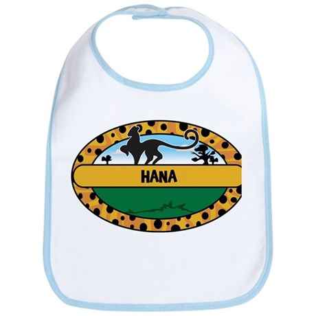 HANA - safari Bib