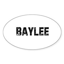 Baylee Oval Decal