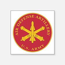 """Unique Artillery Square Sticker 3"""" x 3"""""""