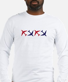 Airplanes Long Sleeve T-Shirt
