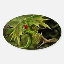 Ruby Leaf Dragon Decal
