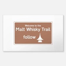 Malt Whisky Trail, Scotland, U Decal