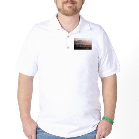 Integrity. Compassion, Courag Golf Shirt