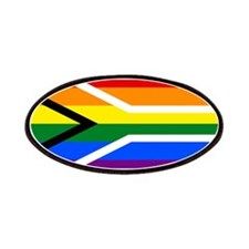 Rainbow South African Flag Patch