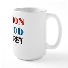 One Nation Above Regret Mug