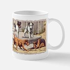 Fox, Irish & Welsh Terriers Vintage Mug