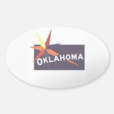 Welcome to Oklahoma, Native America Sticker (Oval)